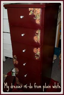 Furniture Painting Ideas Dresser Re-Do