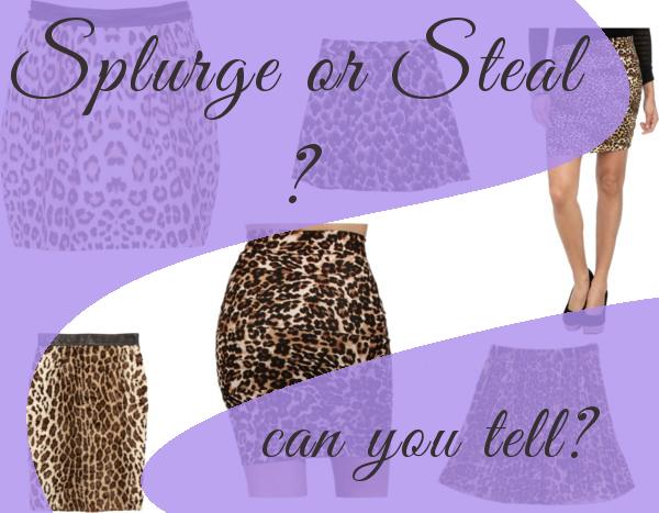 splurge or steal