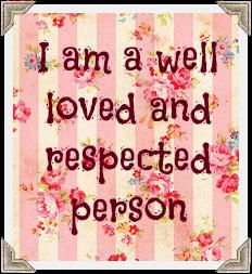 Affirmation Self Esteem