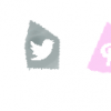 social media icons girly