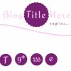 puple icons | Feminine blog theme