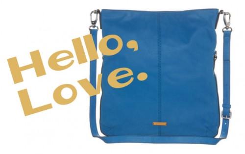 blue tote bag | cobalt blue
