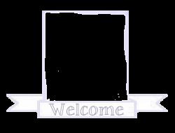 blue welcome box