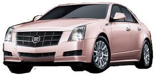 dream car | pink cadillac