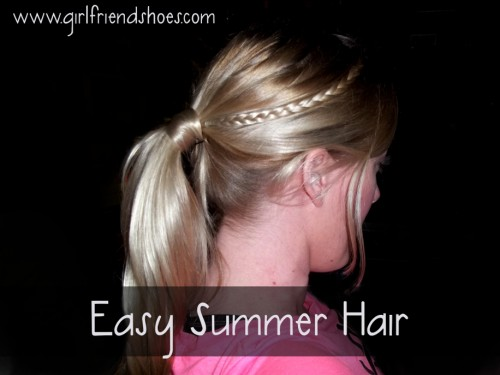 easy hair ideas   summer hair