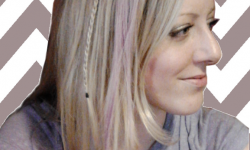 Violet Hair Chalk