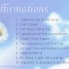 daily affirmations and intentions