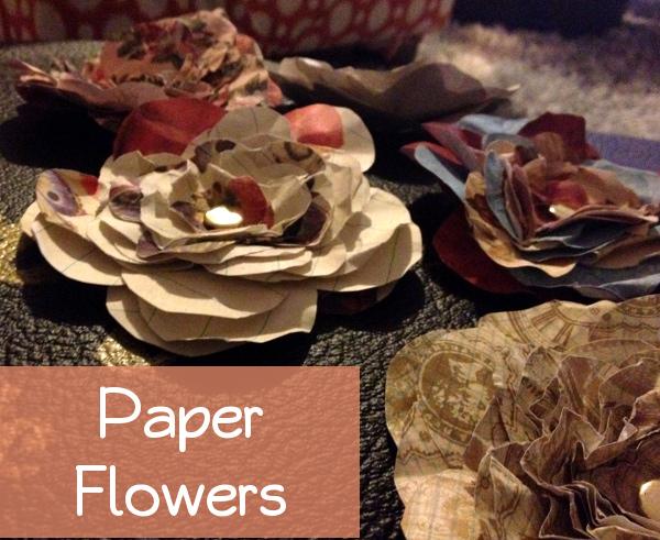 paper flowers big