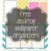 free desktop organizer