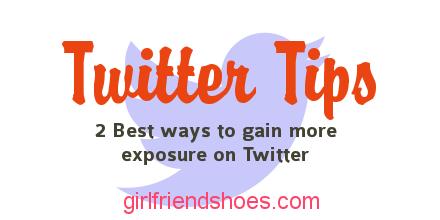 twitter tips | gain twitter followers
