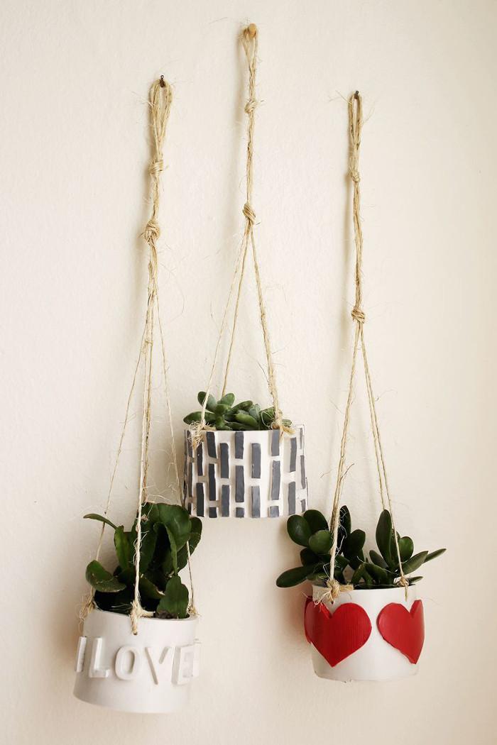 D.I.Y. mini planters