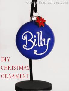 DIY Christmas Tree Ornament