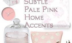 30 Charmingly Subtle Pale Pink Home Accents