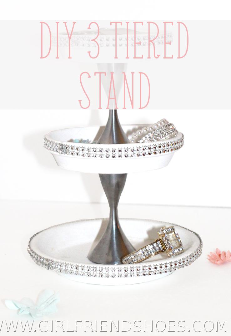 diy 3 tier stand